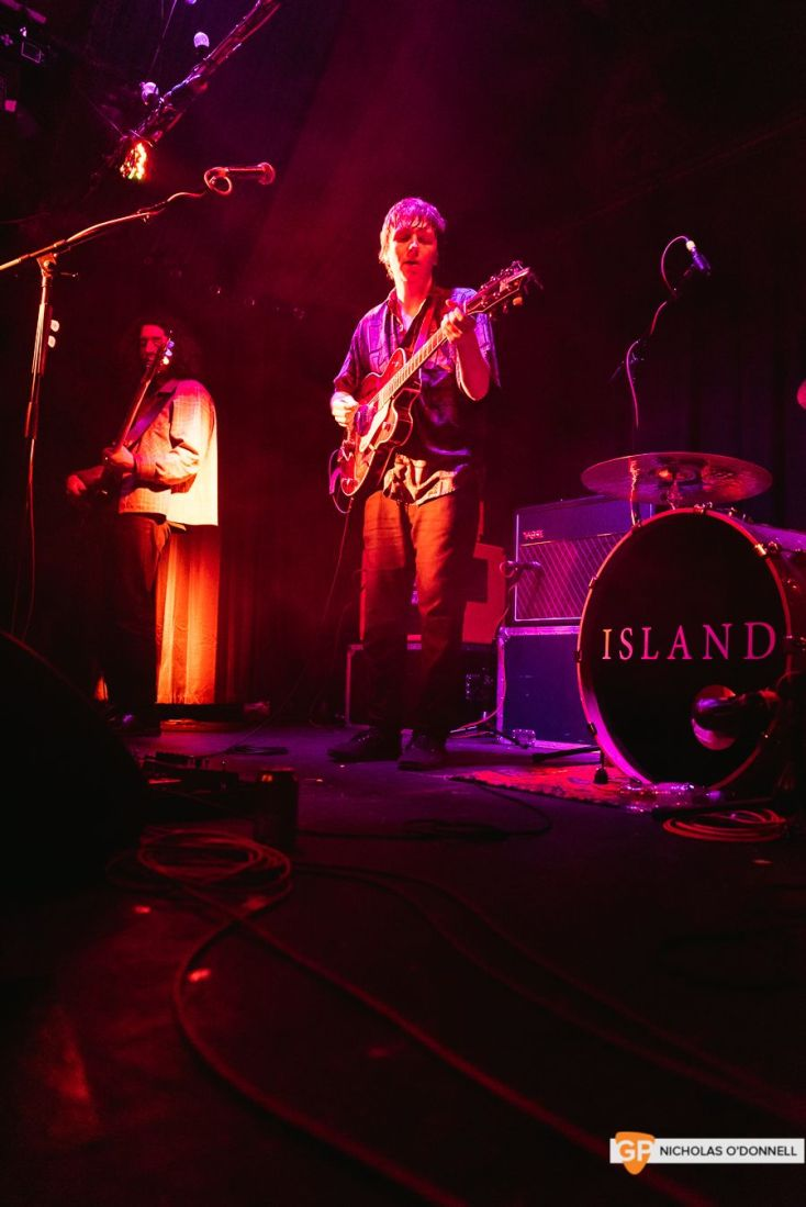 ISLAND at The Grand Social. By Nicholas O'Donnell