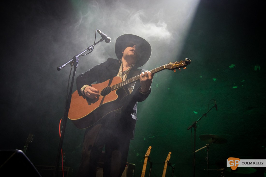 Luke Haines at Vicar Street, Dublin 18.2.2019 by Colm Kelly-4