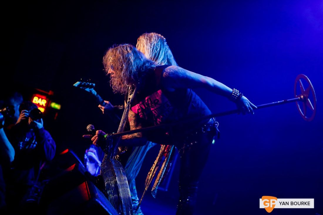 Steel Panther at Vicar Street on 5 February 2019 by Yan Bourke