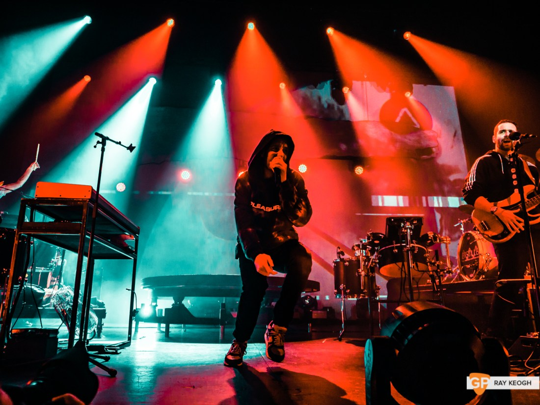 Bastille – The Olympia – Photo by Ray Keogh