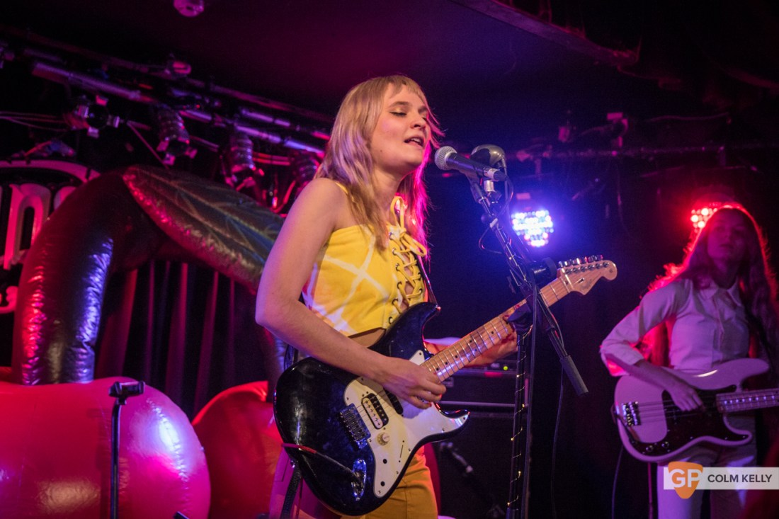 Cherry Glazerr at Whelan's by Colm Kelly-106