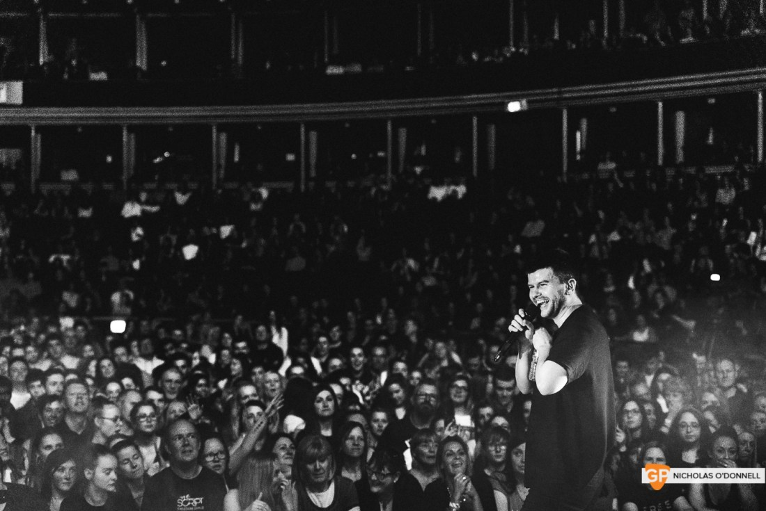 Wild Youth supporting The Script in the Royal Albert Hall, London. Photo by Nicholas O'Donnell. (10 of 20)