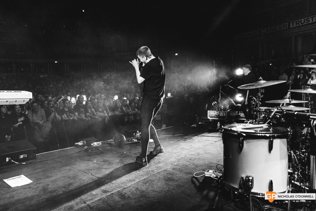 Wild Youth supporting The Script in the Royal Albert Hall, London. Photo by Nicholas O'Donnell. (9 of 20)