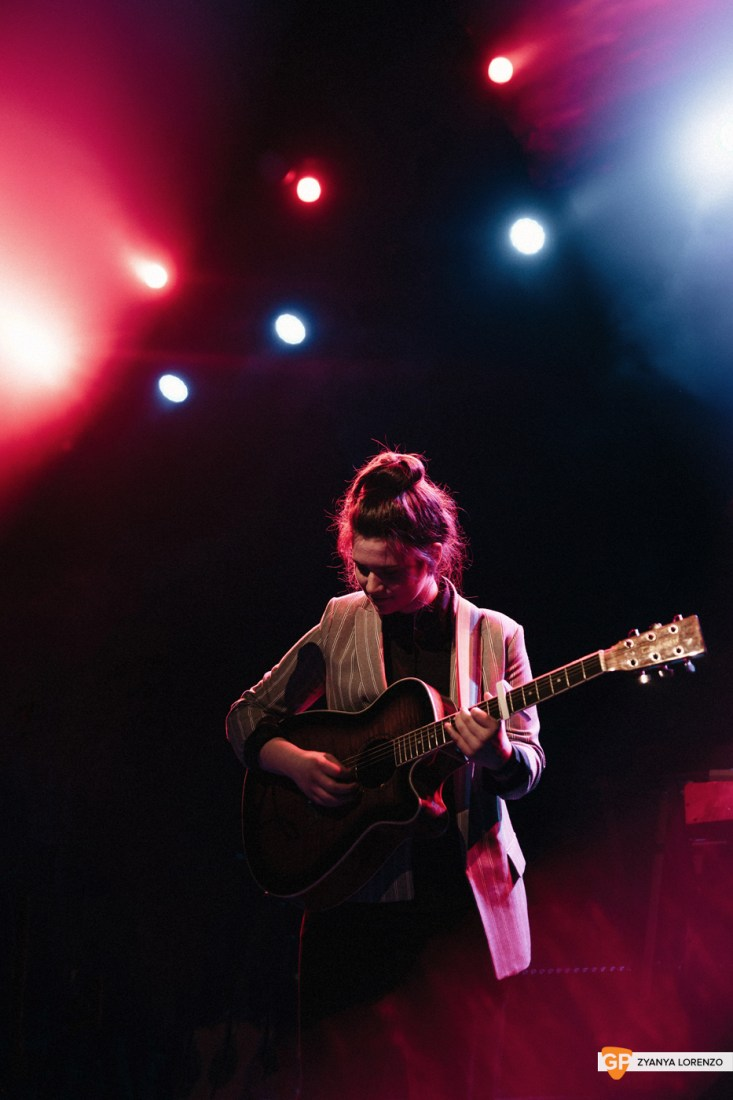 LUZ supporting Dean Lewis at Vicar St, Dublin. Photographed by Zyanya Lorenzo.