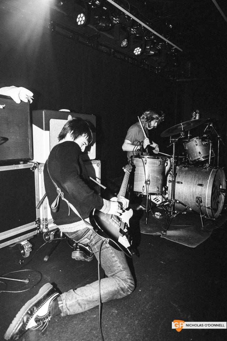 TOUTS perfroming in the Borderline, London. Photo by Nicholas O'Donnell