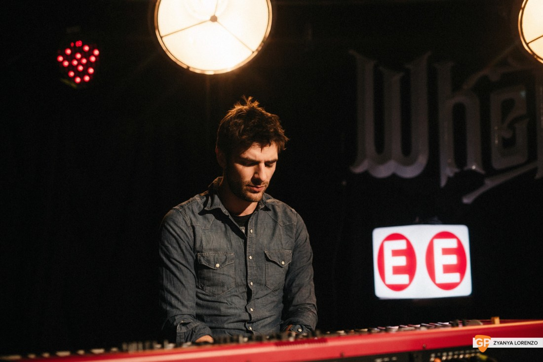 Rhys Lewis live at Whelan's, Dublin. Photographed by Zyanya Lorenzo.