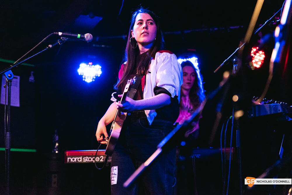 Sorcha Richardson performing in Whelan's. Photographs by Nicholas O'Donnell.