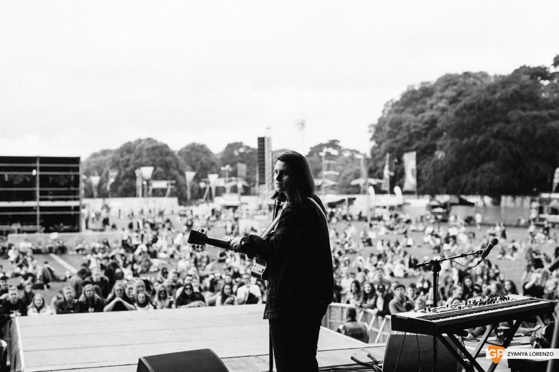 Luz live at St Anne's Park, Dublin. Photographed by Zyanya Lorenzo