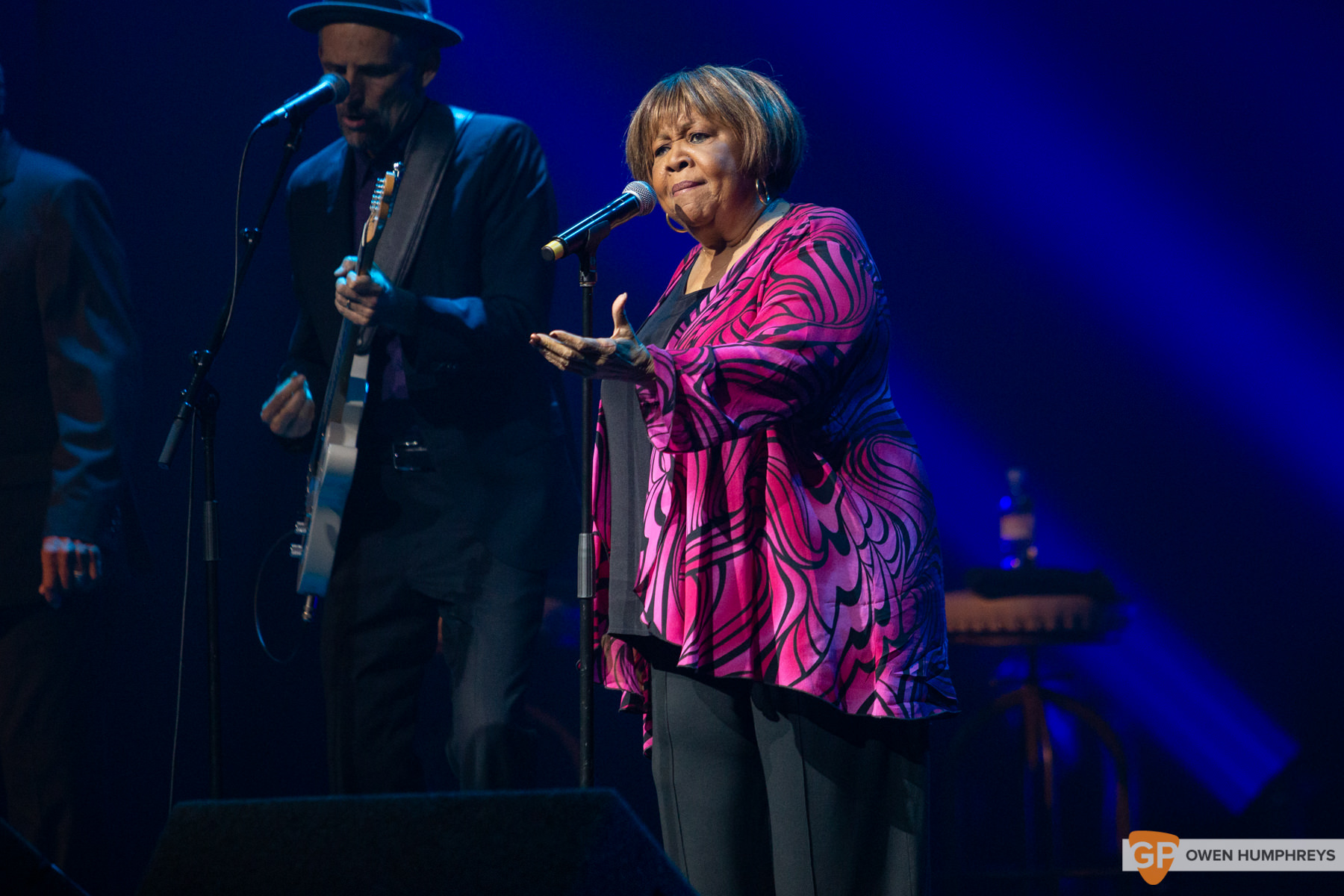 Mavis Staples at The Olympia Theatre. Photo by Owen Humphreys. www.owen.ie