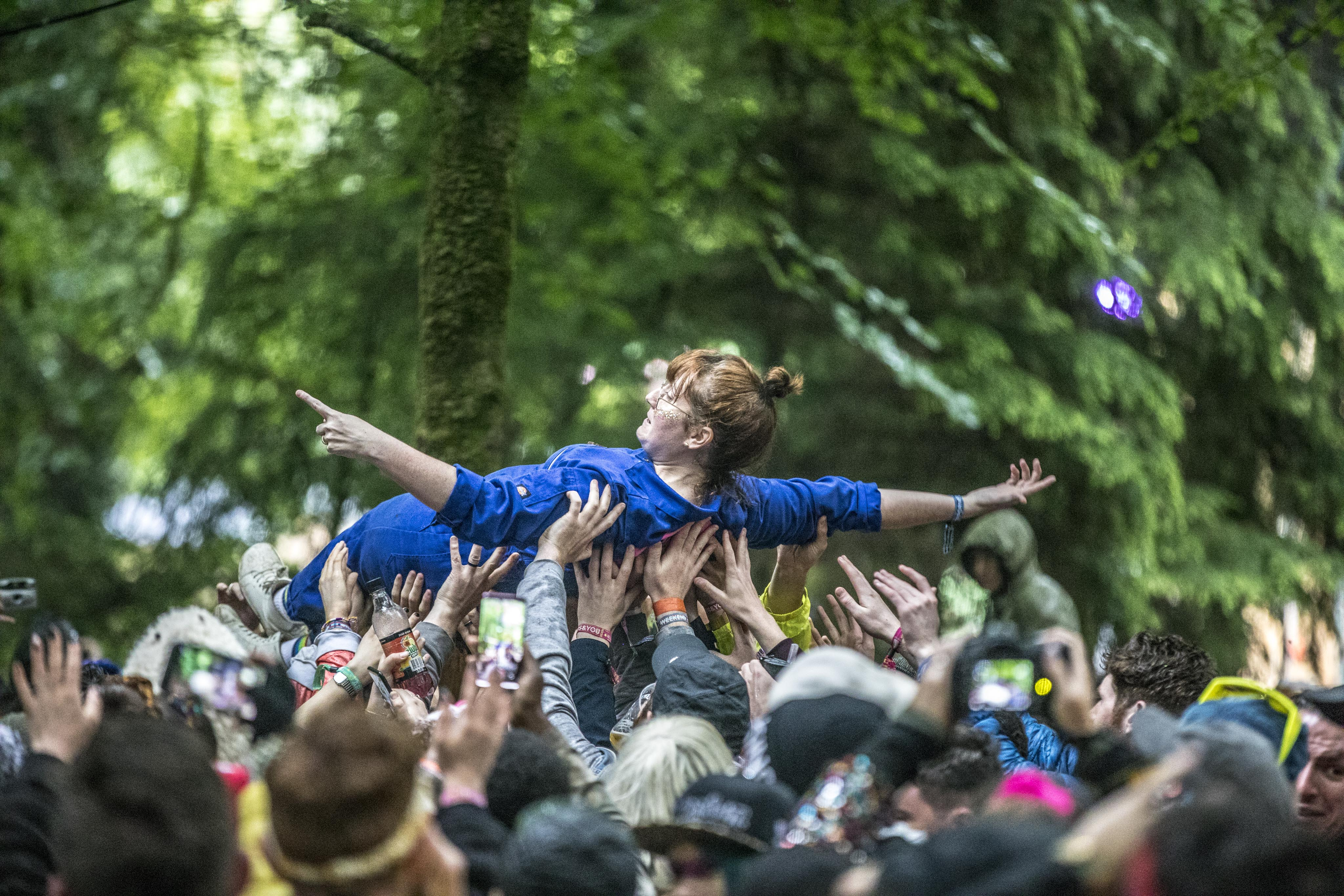 SING ALONG SOCIAL  on the Woodland Stage @ Body&Soul 2019 – Photo: Allen Kiely