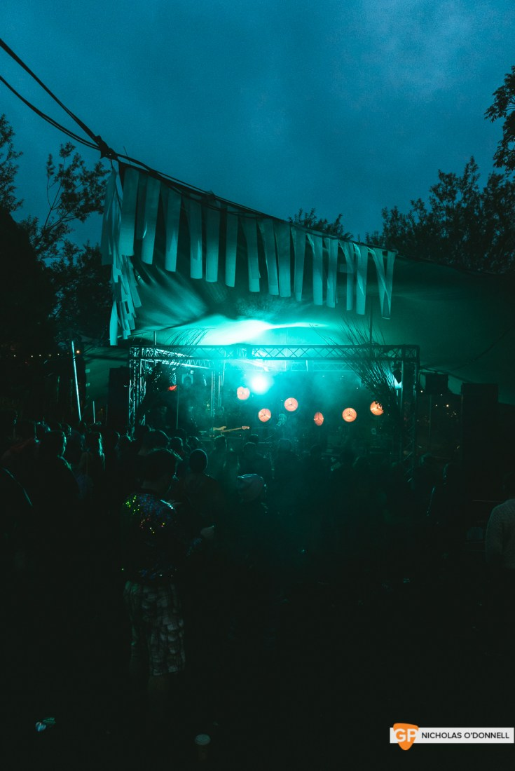 Soda Blonde perforing at the Faerie stage at KnockanStockan 19. Photos by Nicholas O_Donnell. (7 of 7)