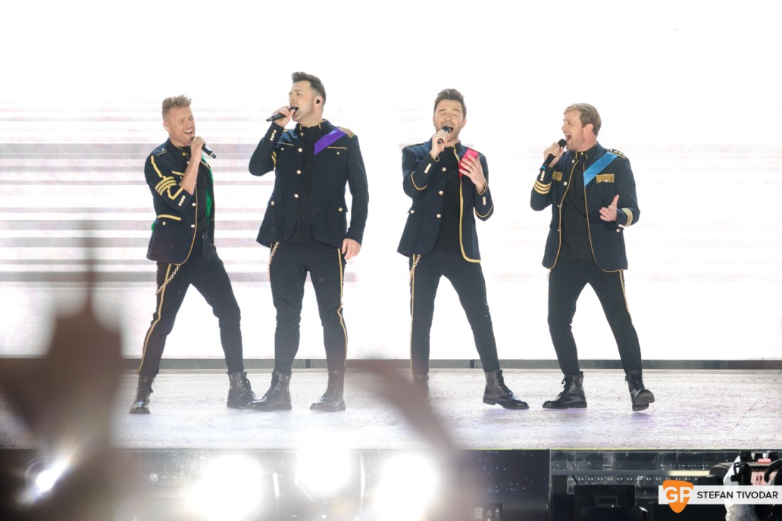 Westlife night 1 July 2019 Croke Park Tivodar 14