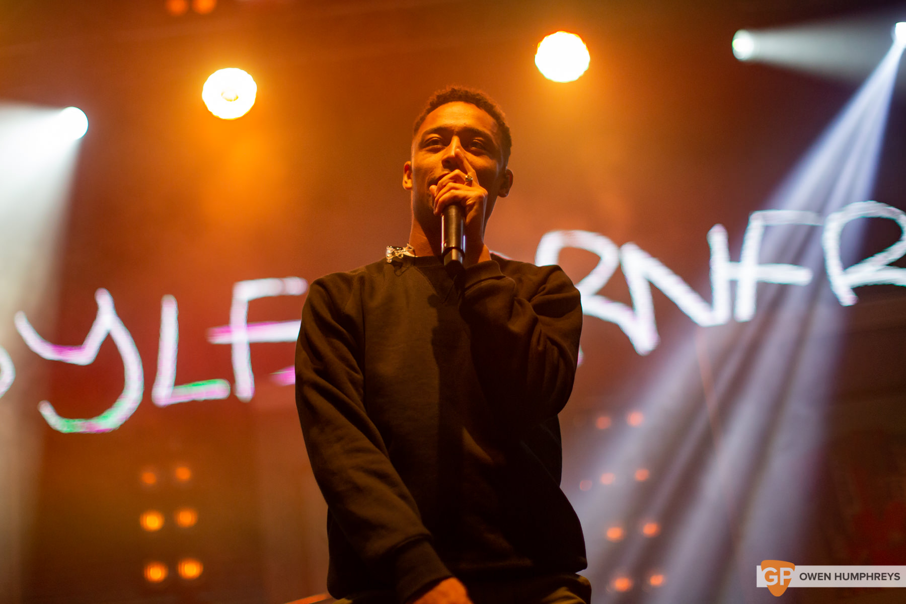 Loyle Carner at All Together Now 2019. Photo by Owen Humphreys. www.owen.ie