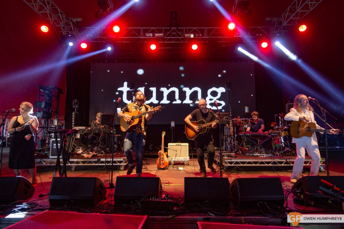 Tunng at All Together Now 2019. Photo by Owen Humphreys. www.owen.ie