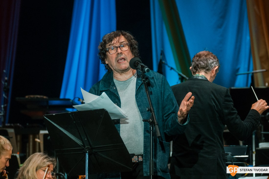 Stephen Rea RTE Concert Orchestra Culture Night 2019 at National Museum of Ireland Tivodar 1