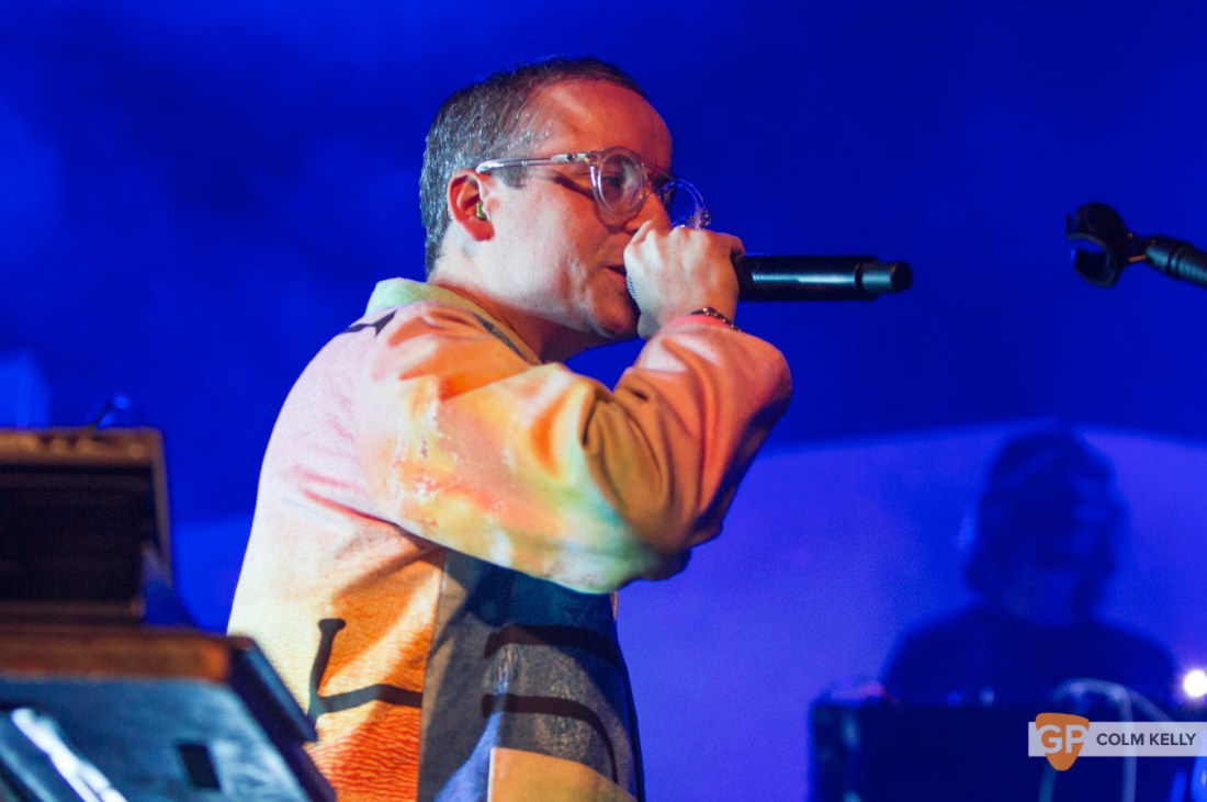 Hot Chip at The Olympia Theatre, Dublin 17.10.2019 Copyright Colm Kelly-166