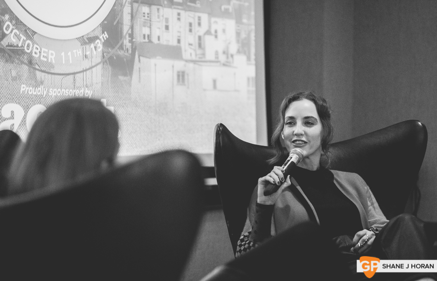 Sentimental Garbage feat Louise O'Neill, Cork podcast festival, The River Lee, Shane J Horan, 11-10-19-6