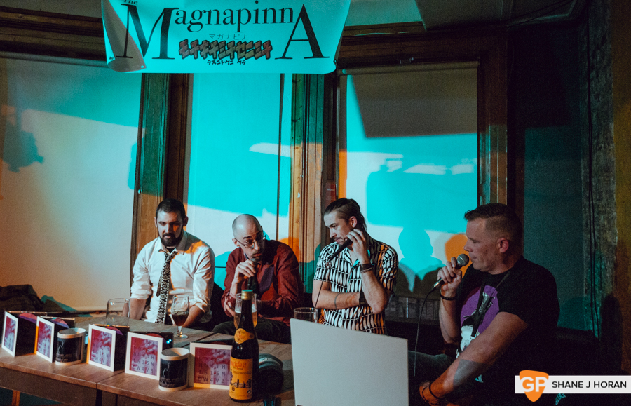 The Metal Cell feat The Magnapinna, Cork Podcast Festival, Plug'd, Shane J Horan, 11-10-19-2