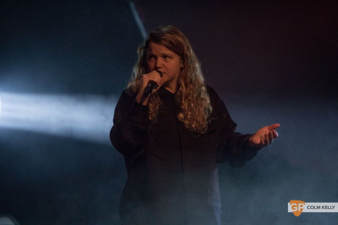 Kate Tempest at Vicar Street, Dublin 15.11.2019 Copyright Colm Kelly-1-19