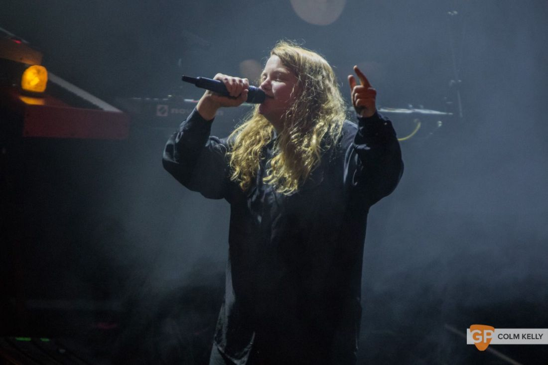 Kate Tempest at Vicar Street, Dublin 15.11.2019 Copyright Colm Kelly-4