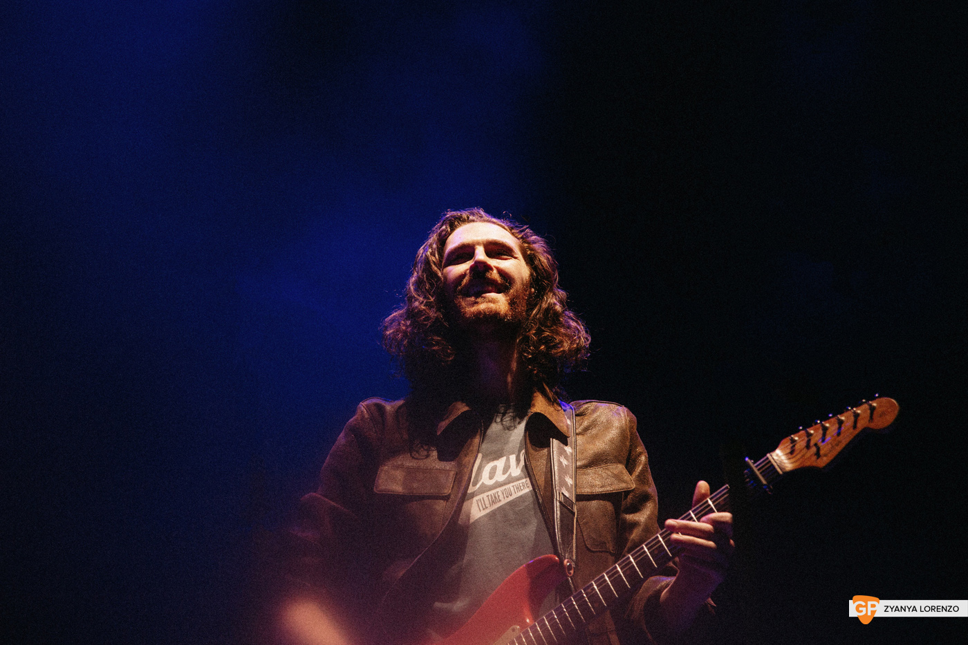 Hozier live at the 3Arena, Dublin. Photographed by Zyanya Lorenzo.