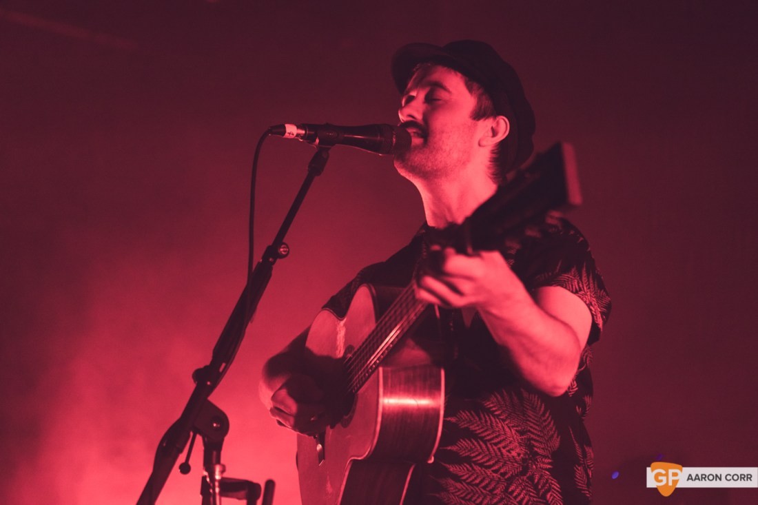 Villagers in Vicar Street, Dublin on 14-Dec-19 by Aaron Corr-0971