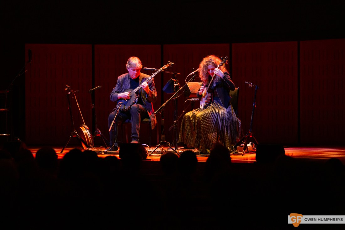 Bela Fleck & Abigail Washburn at The National Concert Hall. Photo by Owen Humphreys. www.owen.ie-10