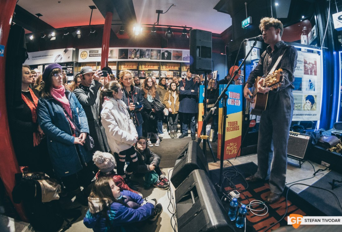 David Keenan Album Launch Tower Records Dublin 2020 Tivodar 9