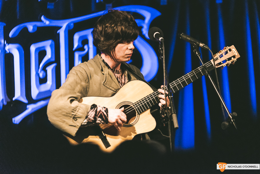 Fionn Regan performing in Whelan's to a sold out crowd. Photos by Nicholas O'Donnell. (12 of 15)