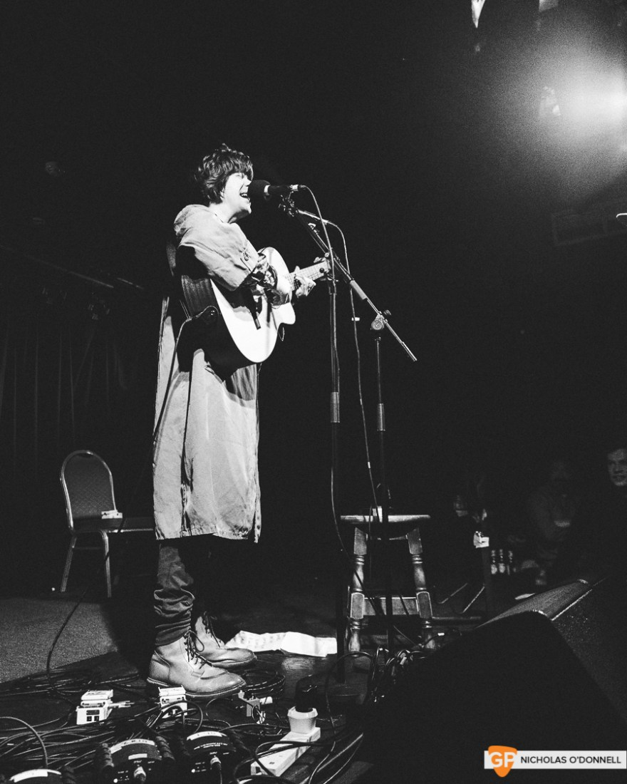 Fionn Regan performing in Whelan's to a sold out crowd. Photos by Nicholas O'Donnell. (3 of 15)