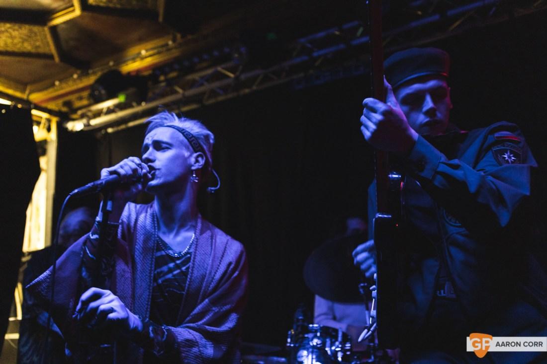 HMLTD live at The Sound House, Dublin on 17-Feb-20 by Aaron Corr-2148