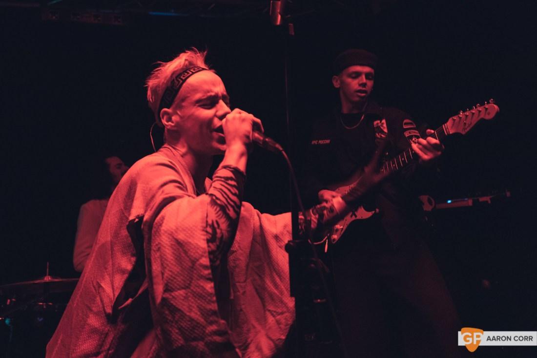 HMLTD live at The Sound House, Dublin on 17-Feb-20 by Aaron Corr-2233