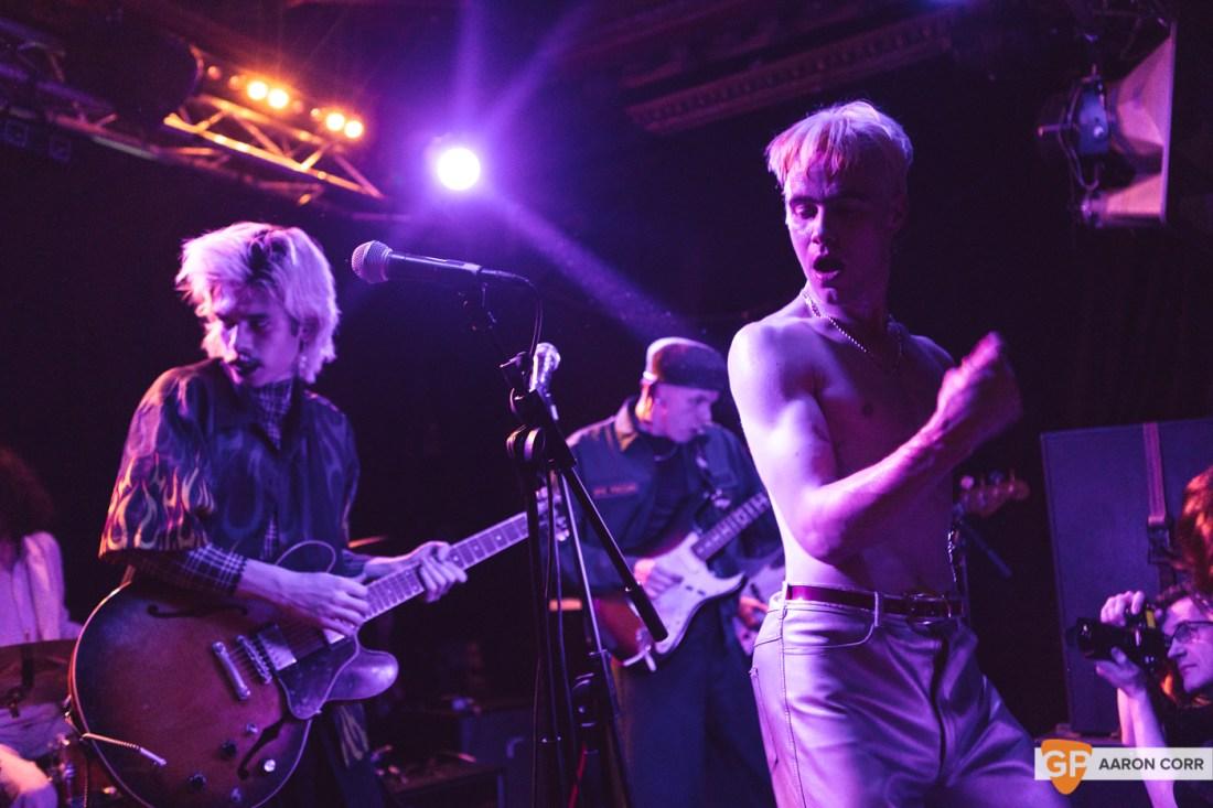 HMLTD live at The Sound House, Dublin on 17-Feb-20 by Aaron Corr-2330