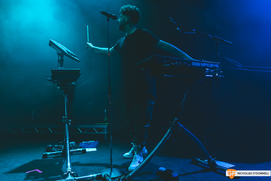 Support 2- Elderbrook opening for Milky Chance in Vicar Street. Photos by Nicholas O'Donnell. (1 of 5)