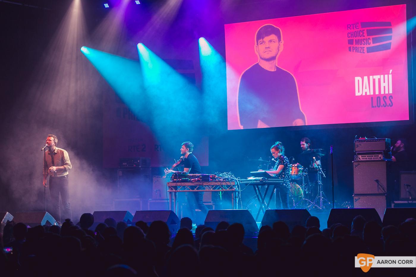 Daithi at Choice Music Prize 2020 in Vicar Street, Dublin on 05-Mar-20 by Aaron Corr-5327