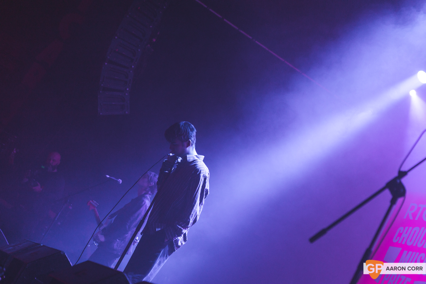 Fontaines DC at Choice Music Prize 2020 in Vicar Street, Dublin on 05-Mar-20 by Aaron Corr-2672