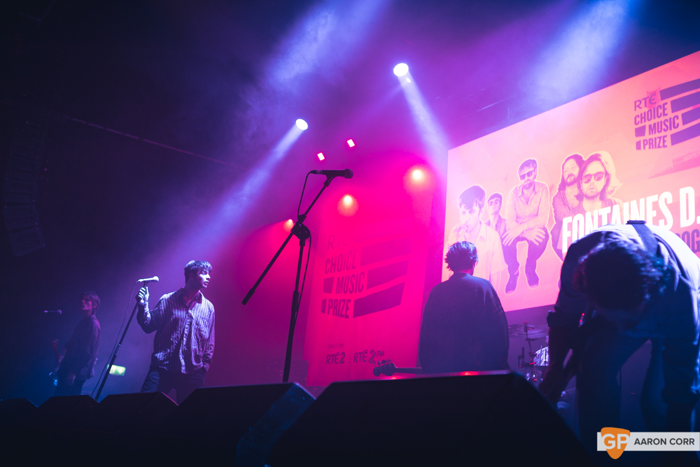 Fontaines DC at Choice Music Prize 2020 in Vicar Street, Dublin on 05-Mar-20 by Aaron Corr-2673