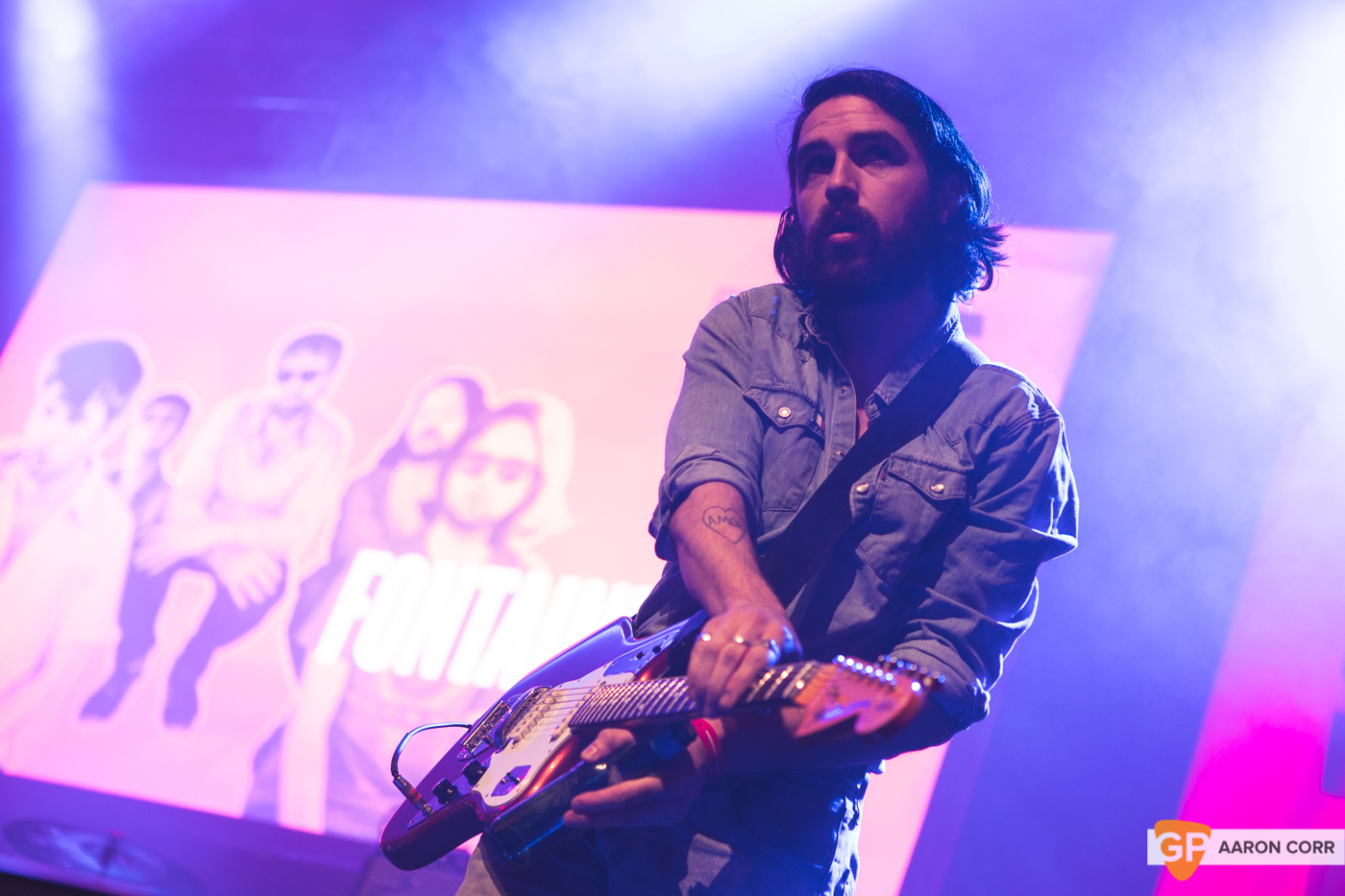 Fontaines DC at Choice Music Prize 2020 in Vicar Street, Dublin on 05-Mar-20 by Aaron Corr-2681