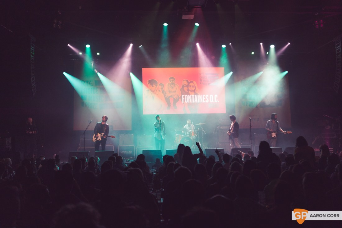 Fontaines DC at Choice Music Prize 2020 in Vicar Street, Dublin on 05-Mar-20 by Aaron Corr-2741