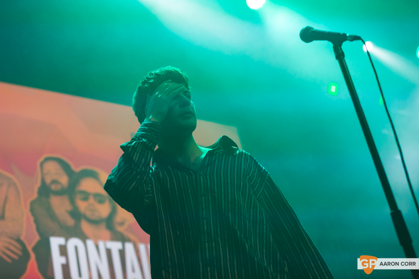 Fontaines DC at Choice Music Prize 2020 in Vicar Street, Dublin on 05-Mar-20 by Aaron Corr-5556