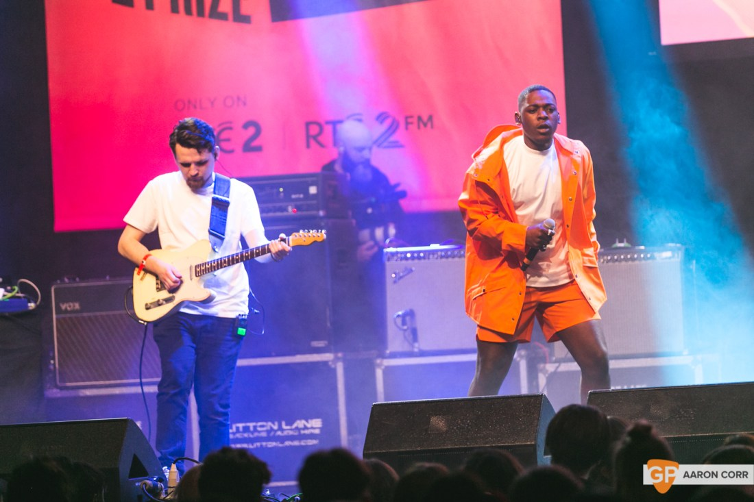 Jafaris at Choice Music Prize 2020 in Vicar Street, Dublin on 05-Mar-20 by Aaron Corr-5134