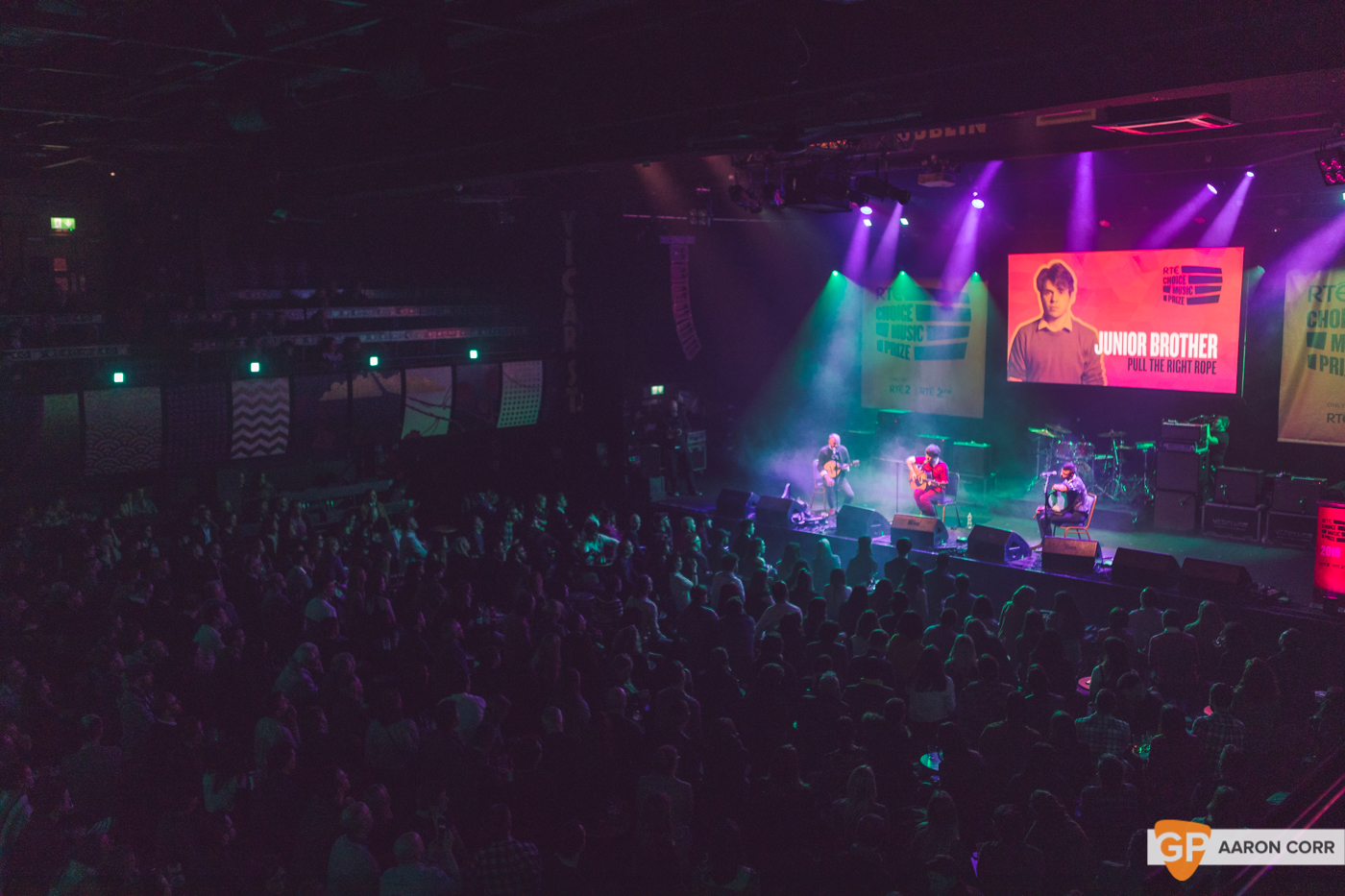 Junior Brother at Choice Music Prize 2020 in Vicar Street, Dublin on 05-Mar-20 by Aaron Corr-2537