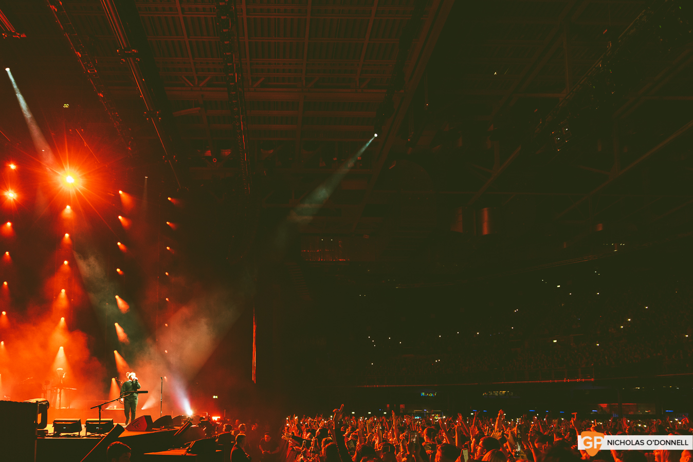 Lewis Capaldi performing in the 3Arena. Photos by Nicholas O'Donnell.