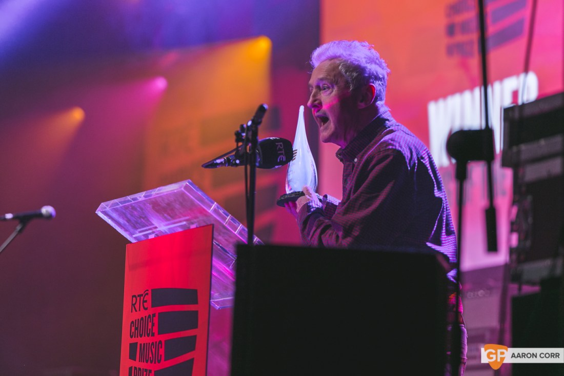 Louis Walsh at Choice Music Prize 2020 in Vicar Street, Dublin on 05-Mar-20 by Aaron Corr-5241