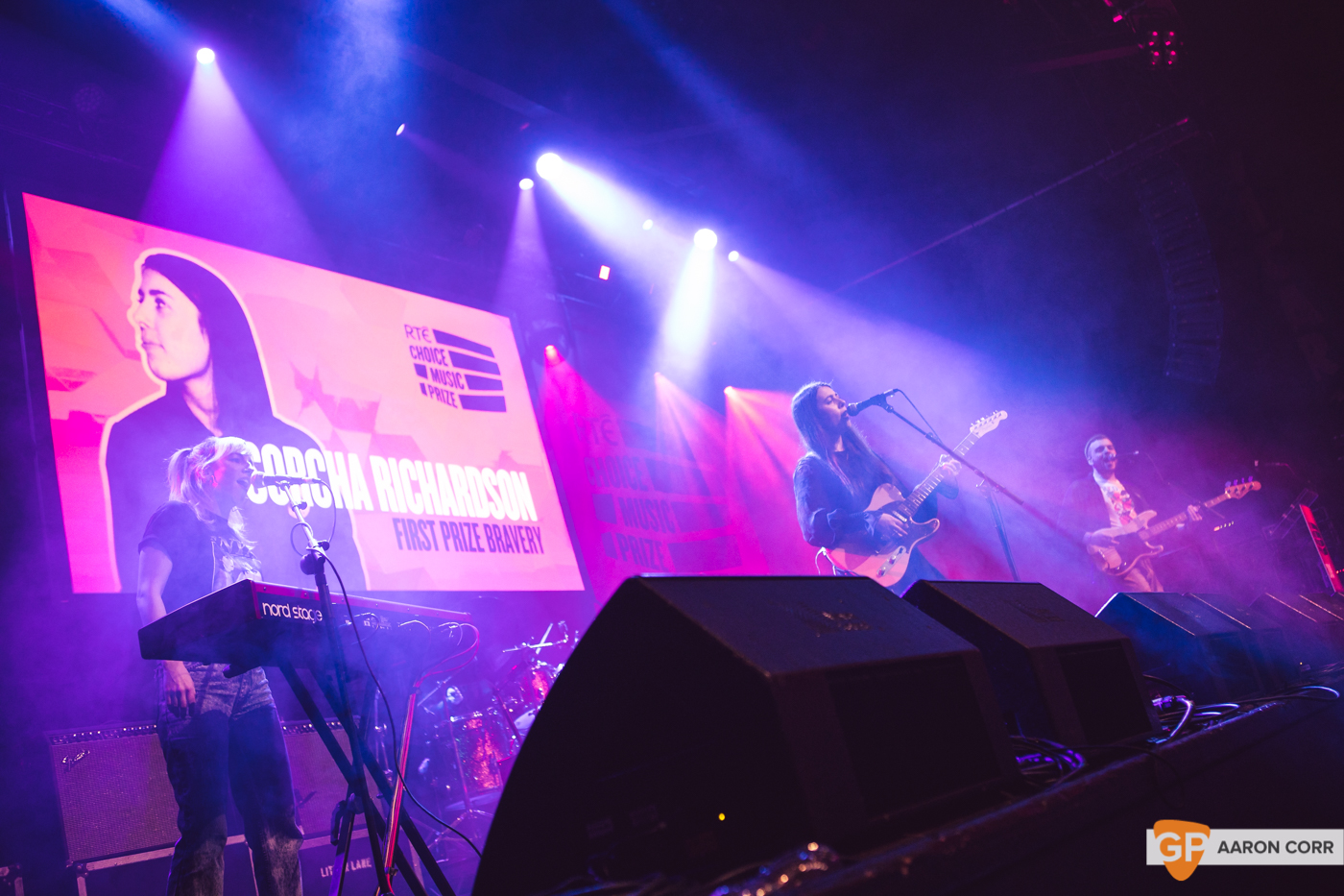 Sorcha Richardson at Choice Music Prize 2020 in Vicar Street, Dublin on 05-Mar-20 by Aaron Corr-2629