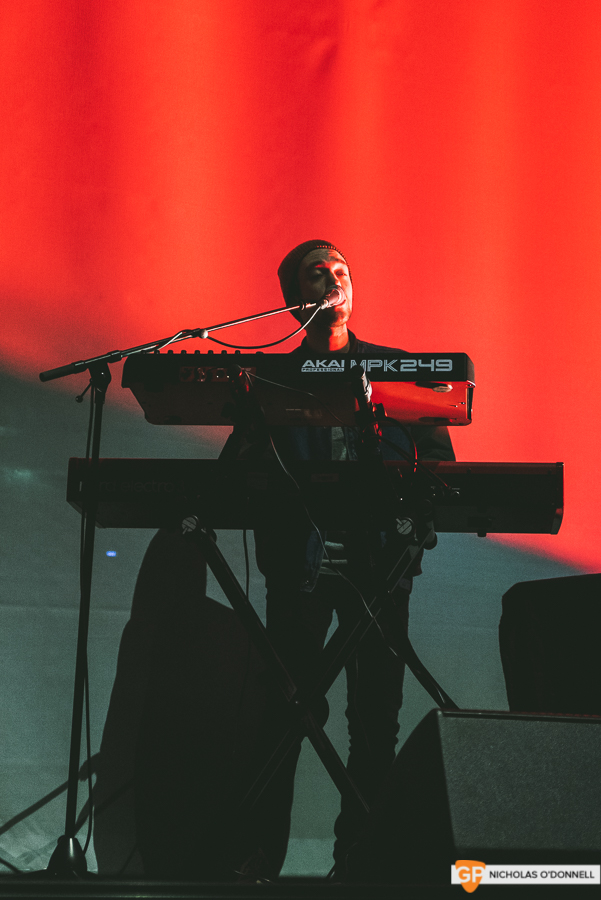Support- Alec Benjamin supporing Lewis Capaldi in the 3Arena. Photos by Nicholas O'Donnell. (2 of 5)