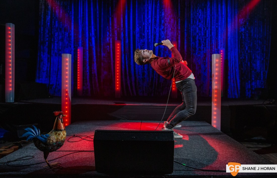 The CoCo Christmas Comedy Show pt2, Brendan Fuller, Kino, Cork, Shane J Horan, 20-12-20-5