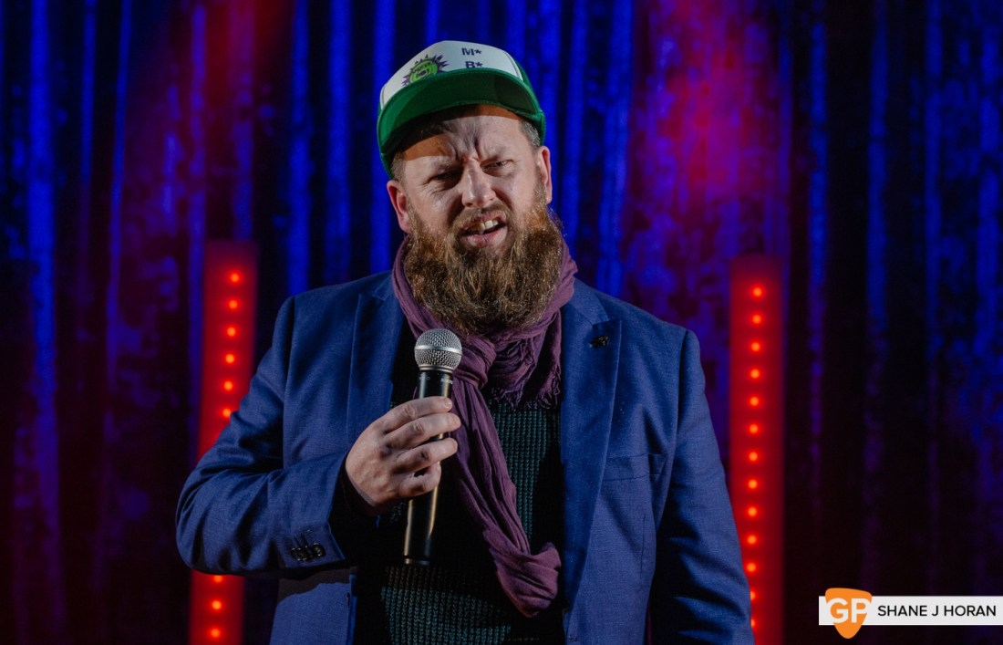 The CoCo Christmas Comedy Show pt2, Cornelius Patrick O' Sullivan, Kino, Cork, Shane J Horan, 20-12-20-3