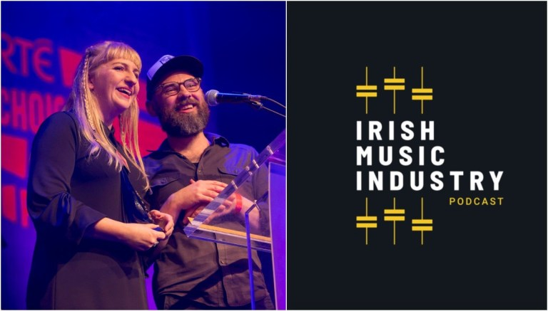 Photo of Irish Music Industry podcast talks Choice Music Prize with chair of the judging panel Jim Carroll
