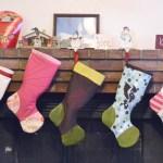 Six stockings!